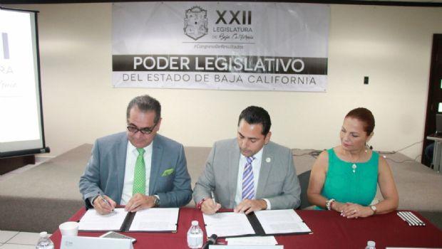 Firman Congreso e Itaipbc convenio de colaboración