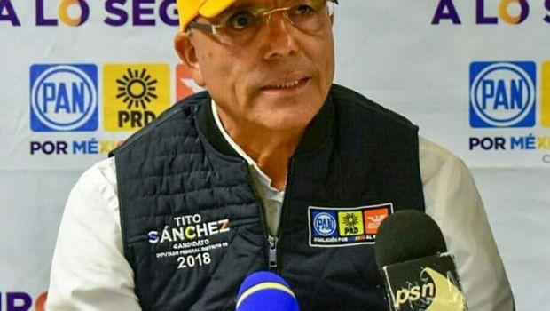 """Impulsaré la Educación de Ensenada y del país desde el Congreso de la Unión: Jacinto """"Tito"""" Sánchez"""