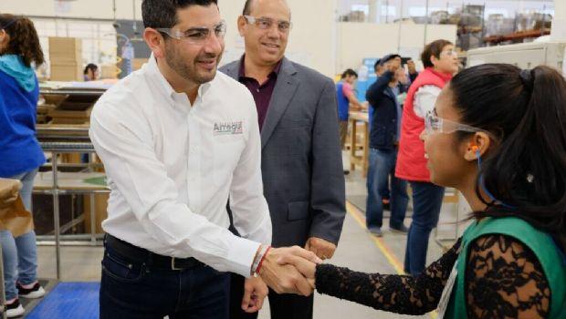 Voto por Arregui para impulsar industria maquiladora