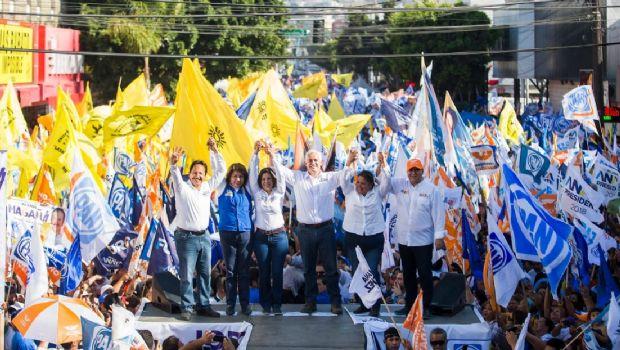 Gran cierre de campaña de los candidatos de la Coalición Por México Al Frente