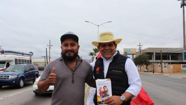 """""""Salgamos a votar por la Cuarta Transformación de México"""". AR"""