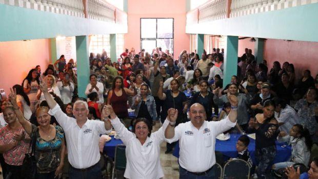 Jorge Ramos da bienvenida a simpatizantes del PRI y PES