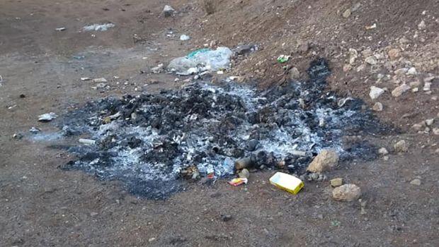Vecinos incineran basura acumulada en San Quintín