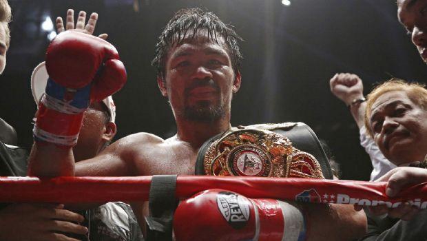 Regresa pegada de Pacquiao y es campeón