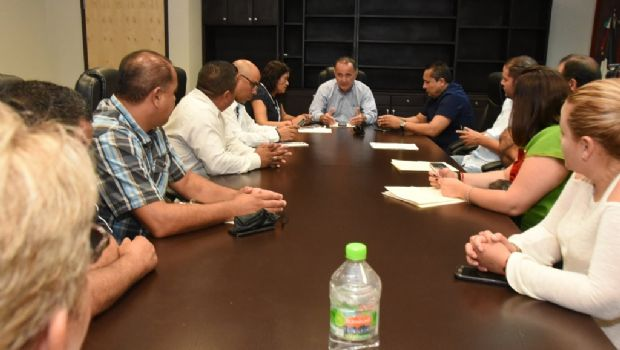 Se reúne alcalde de Ensenada con Asociación de Agentes de Seguridad Pública Municipal