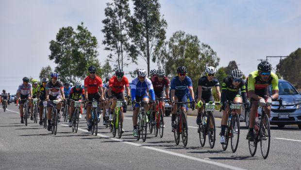 Exitoso paseo ciclista en la Ruta del Vino
