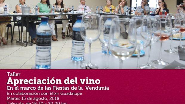 Asista a taller sobre el vino