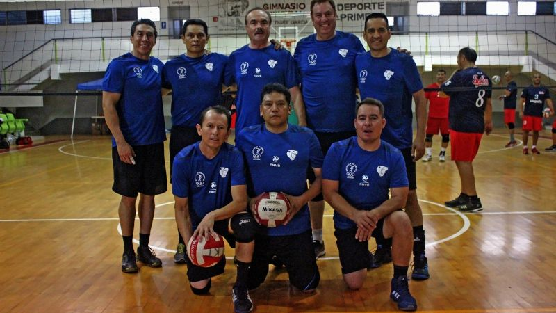 Celebraron Spikers su cumple