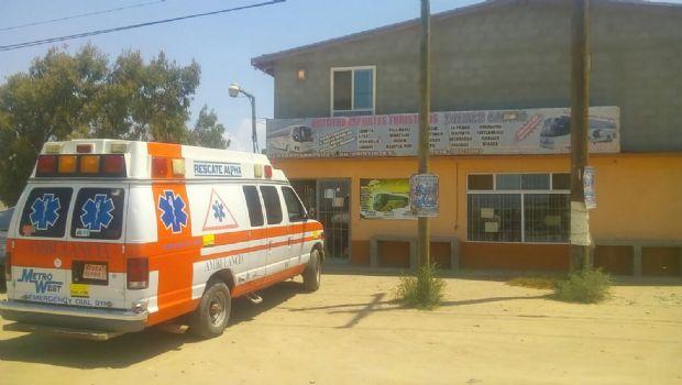 Sin gasolina paramédicos para atender emergencias