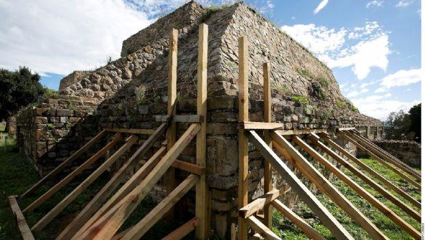 Va al 95% restauración arqueológica tras sismo