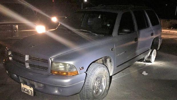 Conducía pareja vehículo robado