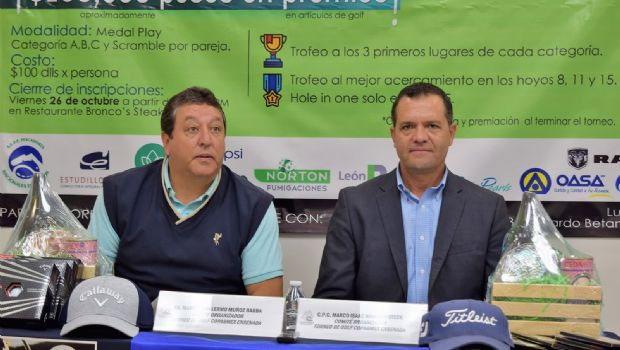 Anuncia Coparmex 1er Torneo de Golf