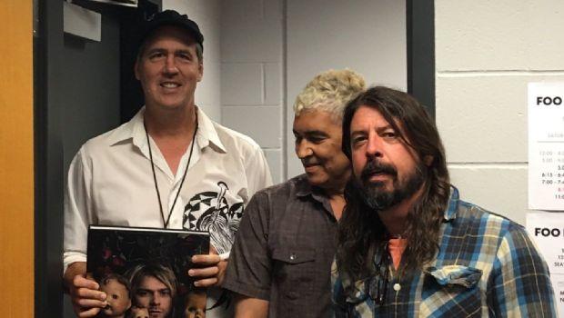 Ovacionan reunión de Grohl y Novoselic