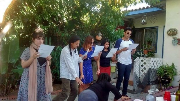 Asista a festival  de poesía en VG