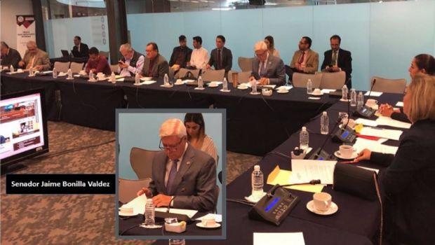 Presenta Senador Bonilla ante GPM  sus compromisos de campaña en B. C.