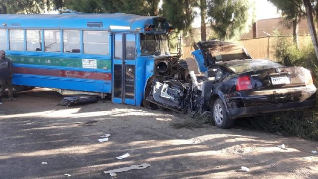 Deja accidente cuatro heridos