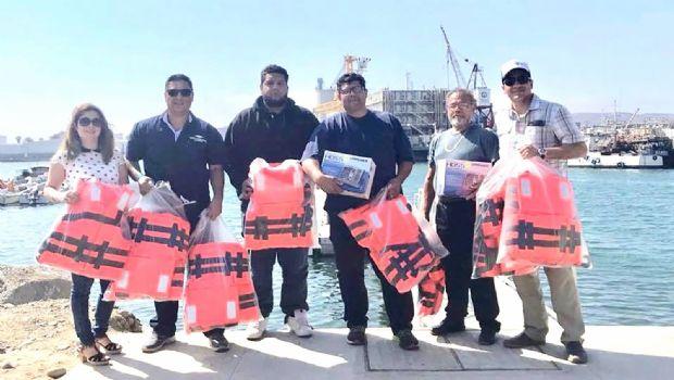 Aplica Sepesca recursos para  la seguridad de pescadores