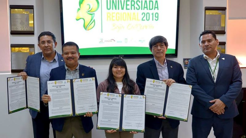 Firman acuerdo Universiada 2019