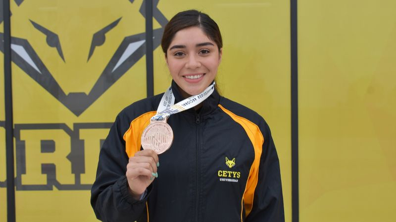 Jocelyn Barrera se viste de bronce en universiada
