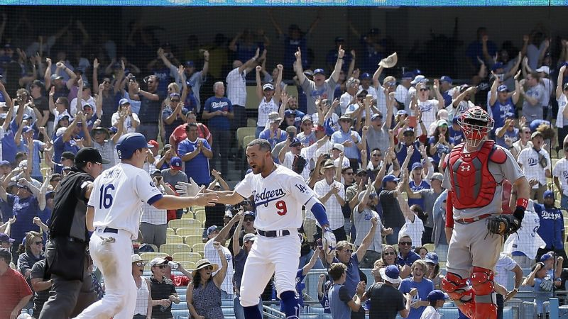 Dodgers vence 2-1 a Cardenales