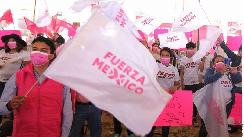 Cortan alas a Fuerza por México y al PES